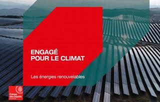 Preview of La Caisse des Dépôts, engagée pour le climat