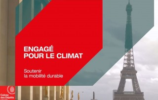 Preview of La Caisse des Dépôts engagée pour le climat avec la mobilité durable