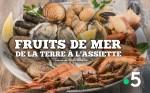 Affiche de Les fruits de mer