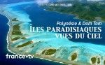 Poster of Paradise islands from the sky