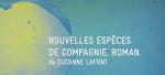 """Poster of Bordeaux Métropole - Exposition """"Nouvelles espèces de compagnie. Roman."""""""